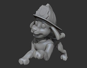 Marshall firfighter 3D print model