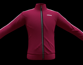3D model adidas jacket