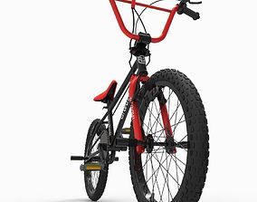 3D asset VR / AR ready Bicycle