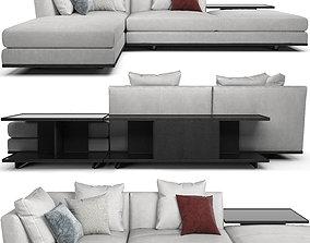 Sofa poltronafrau Come Together 06 1 composizione 3D