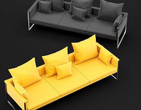Sofa go large triple BT design 3D model