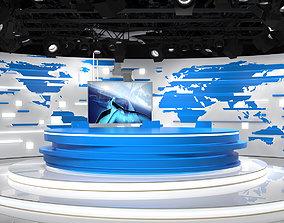 3D Virtual Broadcast Studio 18