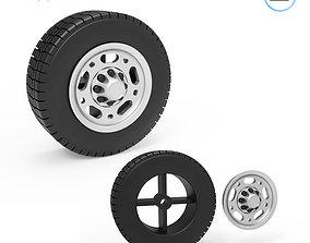 3D print model GMC Super Van Wheel