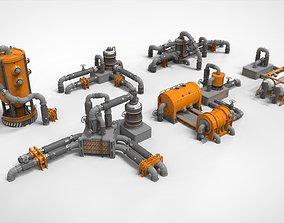 3D Sci Fi Modular Environment 14