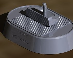 Golf Trophy 3D model