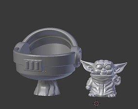 games 3D print model Baby alien