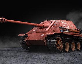 Jagdpanther Sd Kfz 173 red 3D