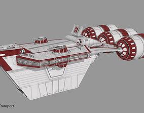 3D model Space transport CR-20