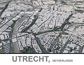 3D asset Utrecht in Netherlands
