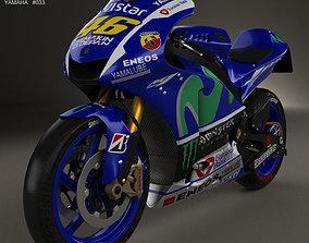 3D Yamaha YZR-M1 MotoGP 2015