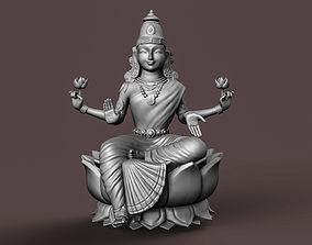 Indian Goddess Laxmi 3D printable model