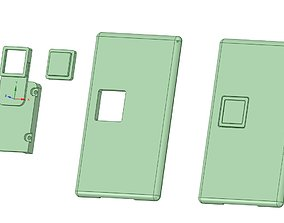 3D print model Billetbox rev 4 Square button package