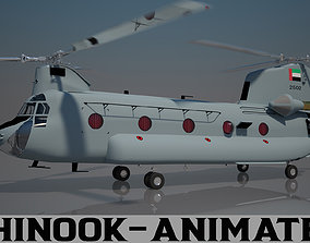 3D UAE Air Force Chinook CH - 47 F