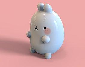 3D asset Bunny toy