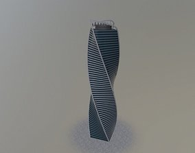 Moscow Evolution Tower 3D model