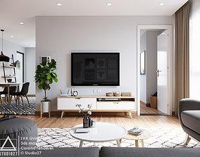 LVA Livingroom - Scandinavian 3D Scene floor
