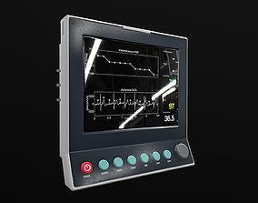 3D asset Medical Machine