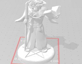 3D printable model Dragonborn mage