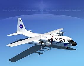3D Lockheed C-130 Hercules NASA
