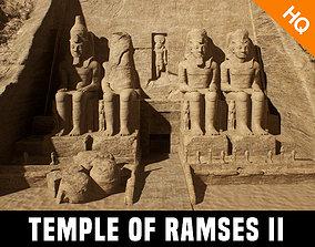 Abu Simbel Egypt Temple of King Ramses II King 3D model 2