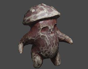 3D asset Blindy mushroom monster