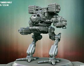 High-Poly Mechwarrior 3D