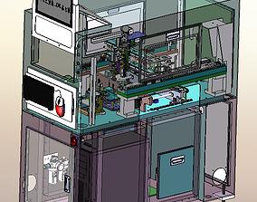 3D model Automatic SMT labeling machine