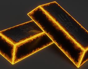 Hellsteel Bar 3D asset