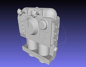 ALIEN Spacesuit Backpack 3D printable model