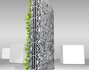 3D model Vines and Gabion Version 2