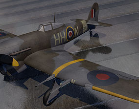 3D model Hawker Typhoon Mk-1B early