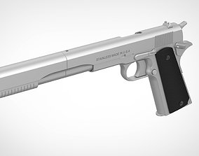 Colt M1911A1 from the movie Hitman 2015 3D