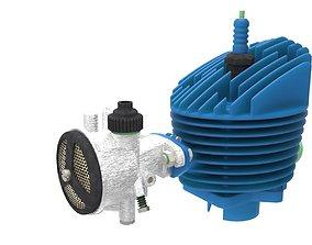 Carburetor Porlaszt 3D model