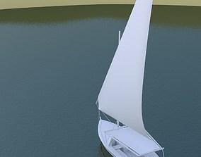 Felucca 3D model