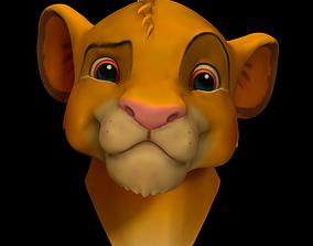 Simba Bust 3D printable model