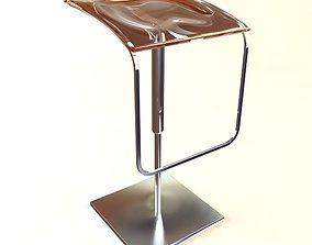 Contemporary Bar Stool 3D