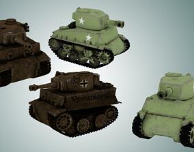 3D model Mini Tanks