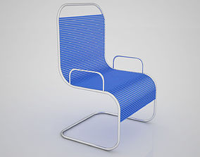 Office Chair 3D model game-ready