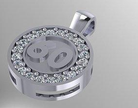 3D print model 60 pendant