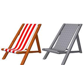 3D Beach Sling Chair
