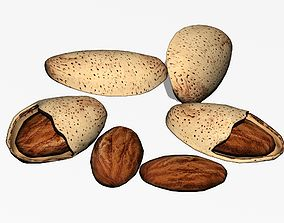 Almonds 3D