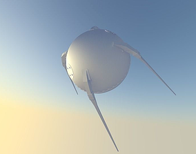 Sputnik 1 3D asset