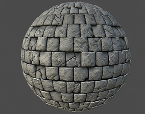 Stone Wall 002 Material 3D
