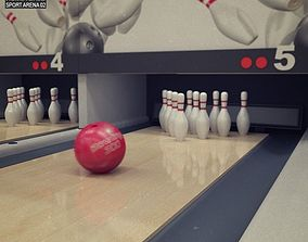 Bowling Club 3D model