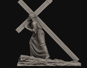 3D print model Jesus Carrying The Cross