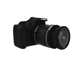 EOS 1300D DOUBLE ZOOM 18MP DSLR CAMERA 3D