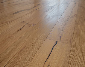 Tasmania wooden oak floor 3D
