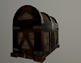 3D model The Wooden Chest