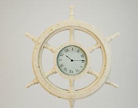 Ships Wheel Clock 3D