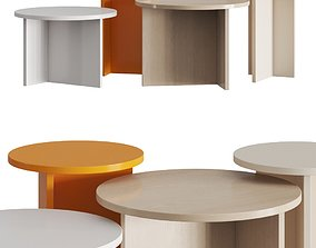 3D Fercia Stone Low Coffee Tables